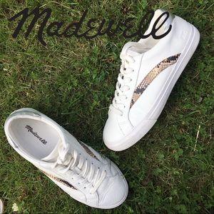 Madewell Sidewalk leather sneakers